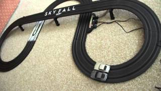 Micro Scalextric James Bond 007 Skyfall Race Set