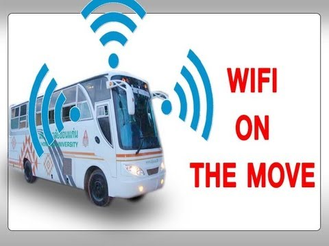 KKU -WIFI ON THE MOVE