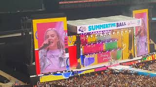 ANNE MARIE PERFORMANCE AT CAPITAL SUMMERTIME BALL