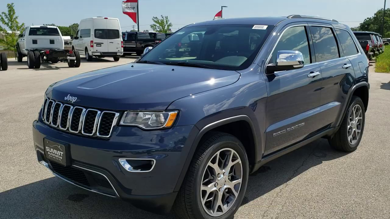 2020 Jeep Grand Cherokee Navy Blue