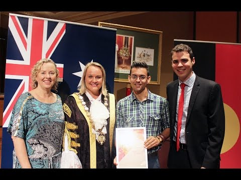 Newcastle Australia Day Awards & Citizenship Ceremony 2015