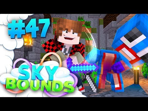 WHAT IS MY COMBAT LEVEL..? | SKYBOUNDS ISLAND #47 (Minecraft SkyBlock SMP)
