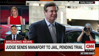 Judge sends Manafort to jail, pending trial