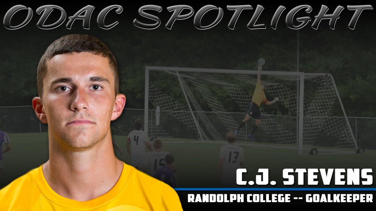 ODAC Spotlight: C.J. Stevens, Randolph Men's Soccer - YouTube