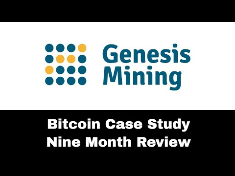 Genesis Mining Bitcoin Case Study - 9 Month Review!