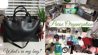 Purse Organization - What's in My Bag? | Bella Palmelatto 15 Review {Teddy Blake}