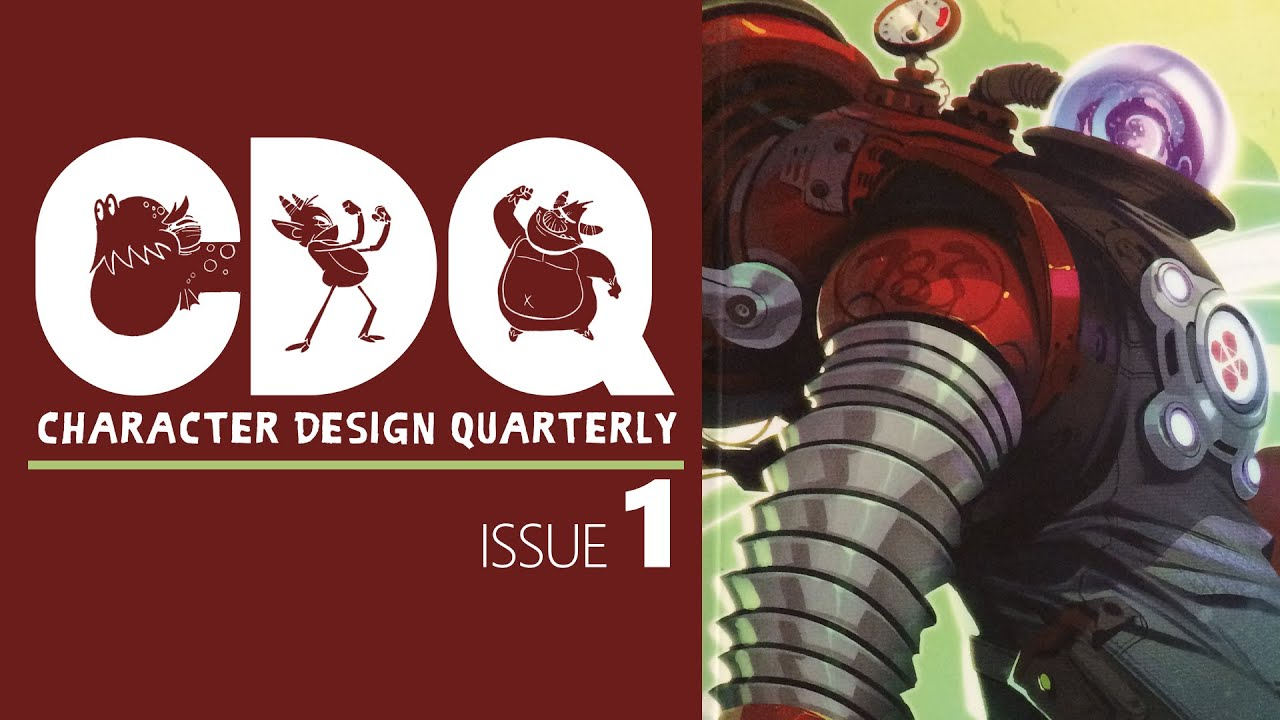Cdq Character Design Quarterly Magazine Issue 1 Quick Look