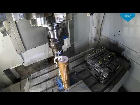 Deep Hole Vibration Drilling - Copper CuA1
