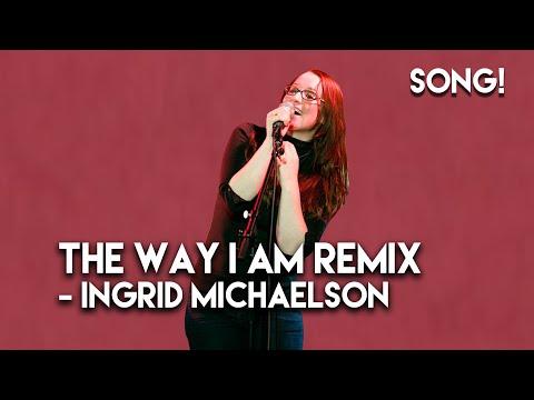 "Ingrid Michaelson -  ""The Way I Am"" Rap Remix on the BOB&TOM Show"