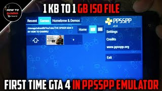 ||GTA 4 IN PPSSPP EMULATOR||HOW TO DOWNLOAD REAL GTA 4 GAME IN ANDROID||GTA 4 IN PPSSPP EMULATOR||