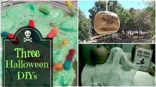 Three Halloween DIYs