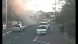 Direct hit of qassam in Ashkelon thumbnail