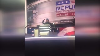 Stephen Colbert Gets Kicked Out By Security After Crashing The RNC