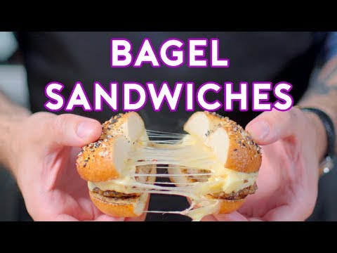 binging-with-babish:-bagel-sandwiches-from-steven-universe