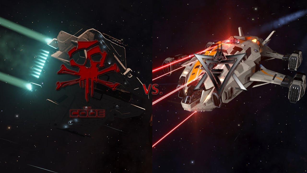 The Code vs  TFAS - Krait Phantom vs  Alliance Chieftain