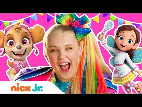 "Birthday Dance Party w/ JoJo Siwa, PAW Patrol & More! 🎉 ""Celebrate"" Music Video 