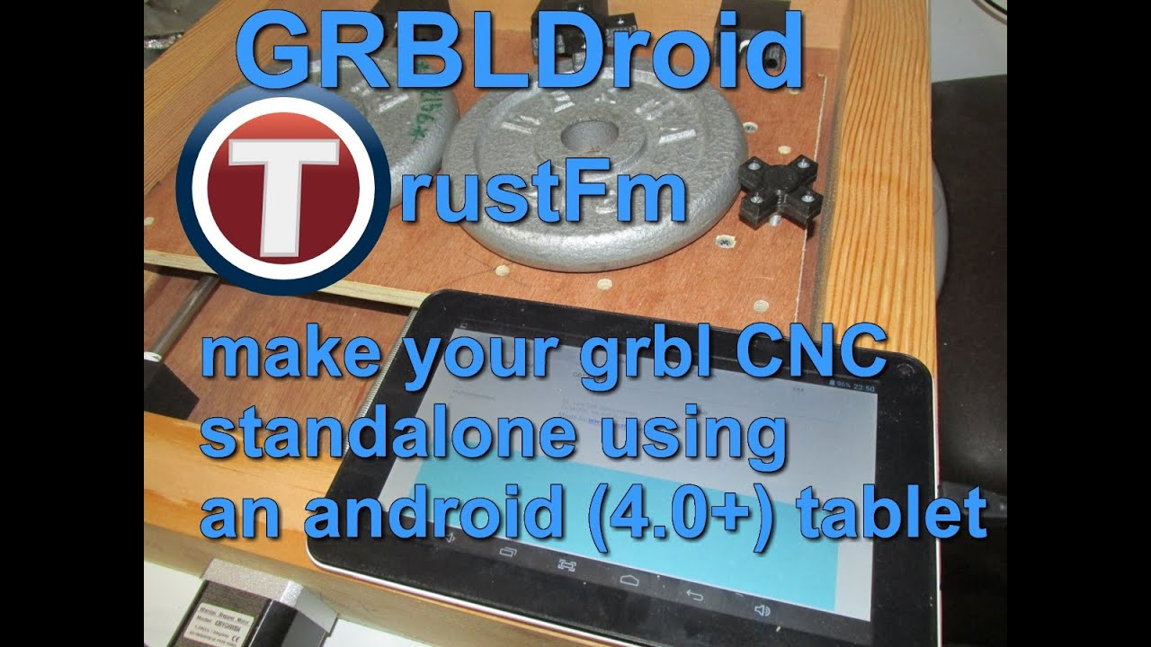 GRBLDroid Standalone Android CNC Controller