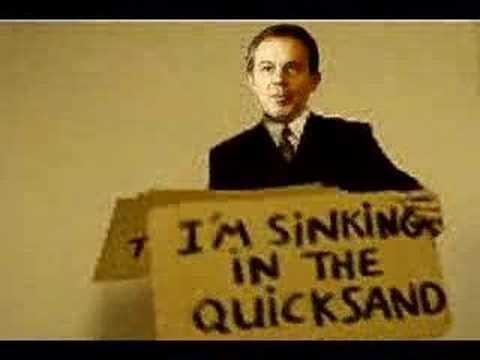 tony blair, quicksand, bowie,The hunt for Tony Blair