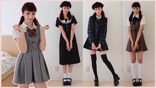 My School Uniform Looks    Nanchatte Seifuku