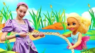 Принцесса София, новая серия— Челси заблудилась влесу. Барби вшоке! —Ищем куклу!