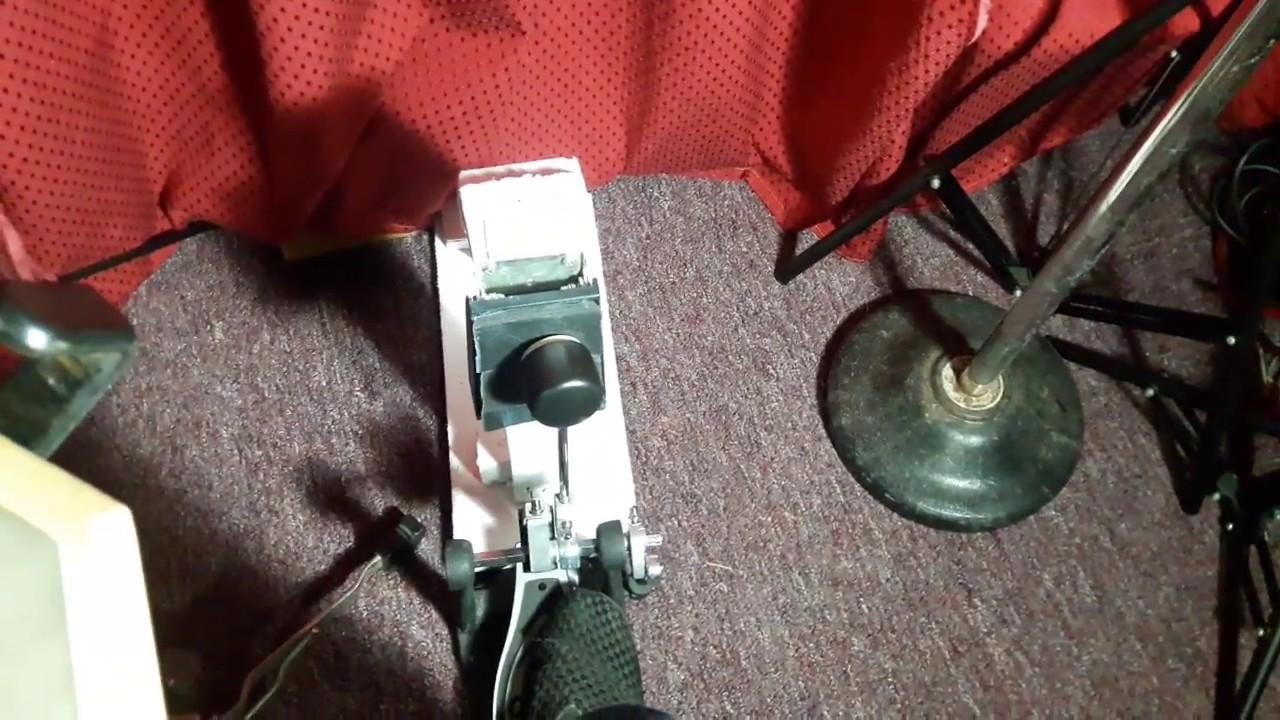 DIY Bass Drum Practice pad
