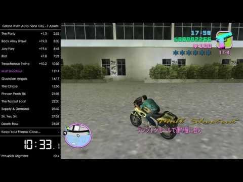 GTA: Vice City Speedrun: 7 Assets in 1:18:24