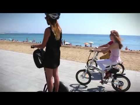 Electric Vehicles - Barcelona Port Tour / Segway & E-Bikes
