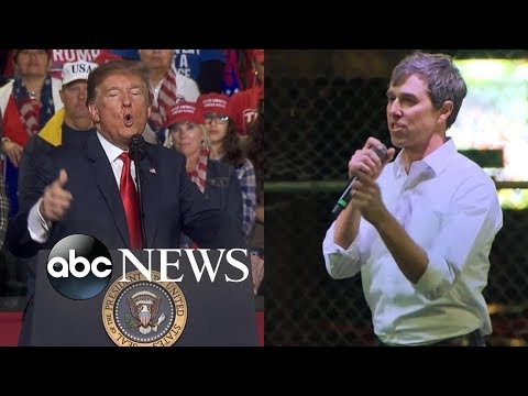 Texas two-step: Donald Trump, Beto O'Rourke hold dueling rallies Mp3