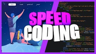 SPEED CODING WEBSITE || PSD TO HTML, CSS || ВЕРСТКА САЙТА ИЗ PSD