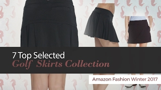 7 Top Selected Golf Skirts Collection Amazon Fashion Winter 2017