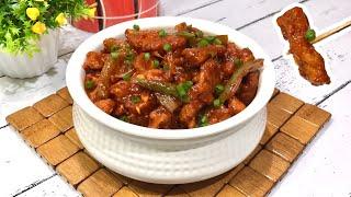 Crispy Baby Corn Chilli  Indo Chinese Restaurant Style Baby Corn Manchurian Recipe