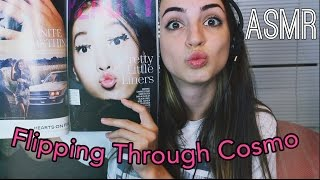 Finger Licking & Page Turning Cosmo (ASMR)