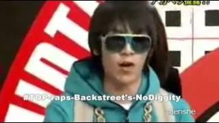 [BIGBANG] TOP raps Backstreet