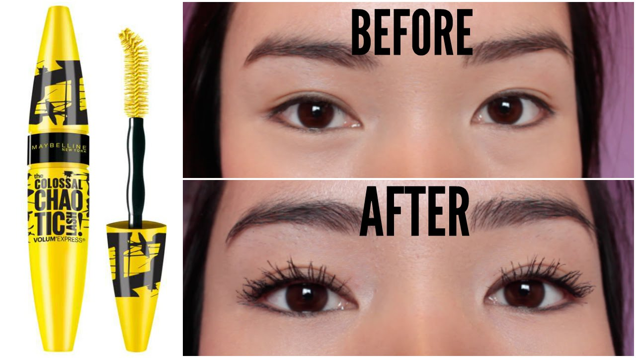 NEW Maybelline Colossal Chaotic Mascara REVIEW