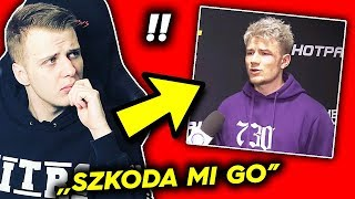 """Nitro szczerze o walce POLAK vs KASJO """"Szkoda mi Adriana"""" :("""