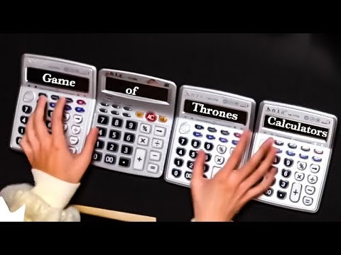 Game of Thrones Theme covered by Calculators