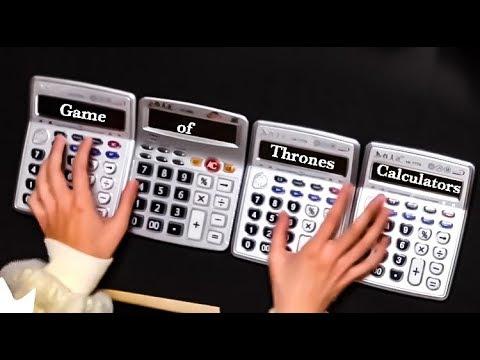 Game of Thrones Theme ed  Calculators