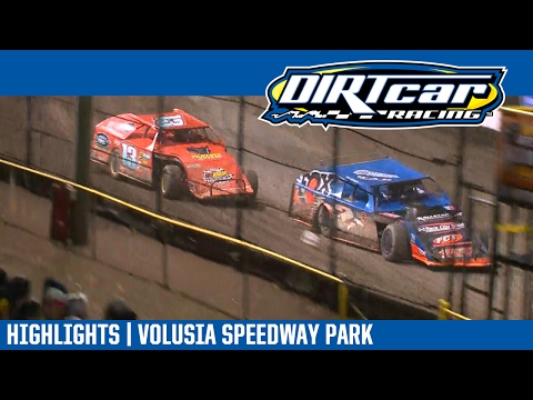 UMP Modifieds Volusia Speedway Park DIRTcar Nationals February 20, 2017 | HIGHLIGHTS - dirt track racing video image