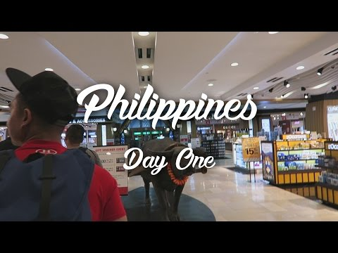 Philippines Day One (Another Adventure!)
