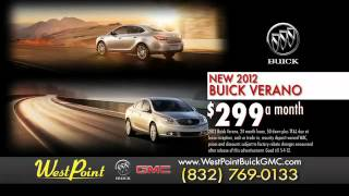 Get the Lowest Buick Prices in Houston at West Point Buick GMC