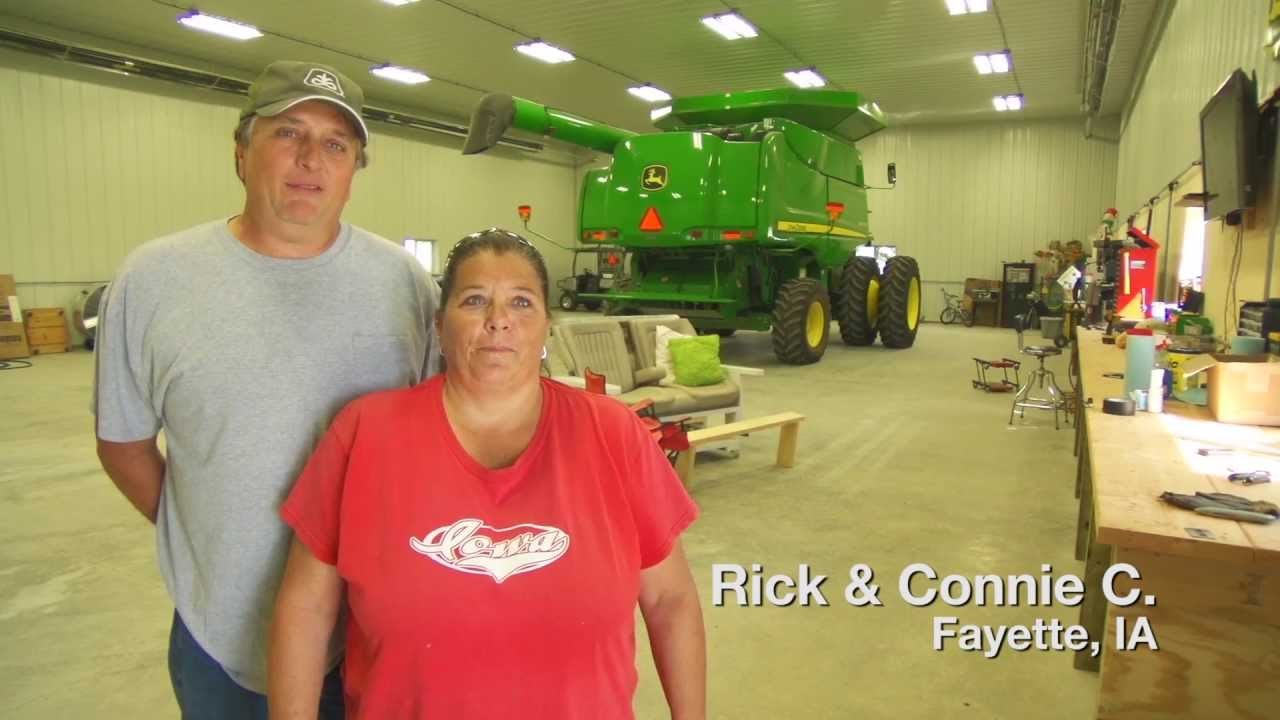 Wick Buildings Farm Shop Customer