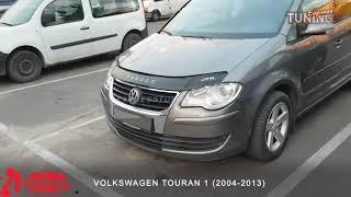 Дефлектор капота Фольксваген Туран 1. Мухобойка на капот Vоlkswagen Touran 1. VIP Tuning. Тюнинг