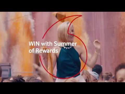 Vodafone Summer Of Rewards