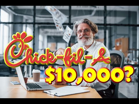 A Chick-Fil-A Franchise Costs only $10,000 and Makes 4.5 Million - What's the Catch?