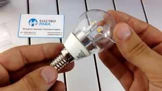 ЭРА 360-LED P45-5w-827-E14 , обзор светодиодной лампы(, 2015-07-29T08:21:15.000Z)