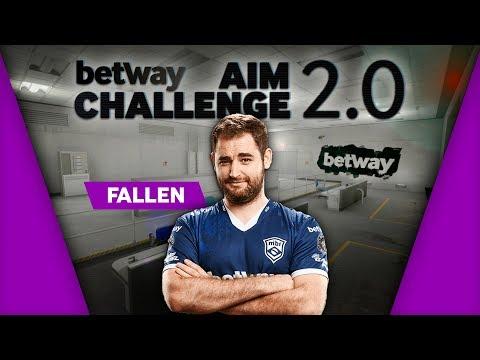 MiBR FalleN Plays Aim Challenge 2.0