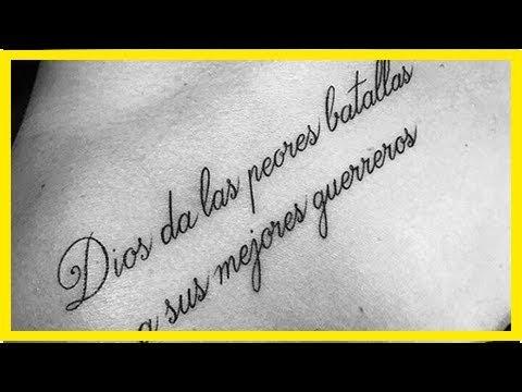 20 Tatuajes Con Frases En Español Que Son Verdadera Poesía En Tu