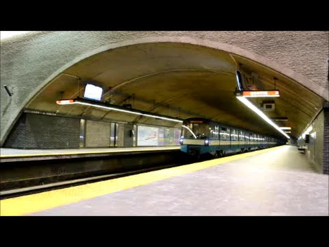 MONTREAL STM GEORGES-VANIER METRO STATION