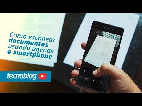 Como escanear documentos usando apenas o smartphone - Tecnofast