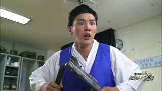 푸른거탑 ZERO - Ep.8 : 로보캅 조교! 앞으로는 영구캅?! 코믹 총기 점호시간!
